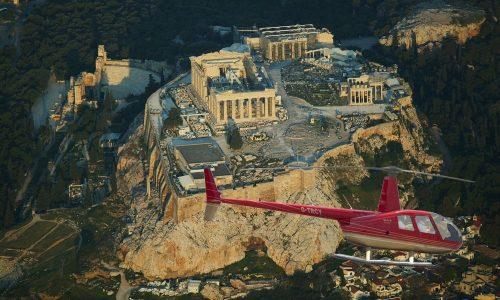 helicopter-acropolis-parthenon-athens